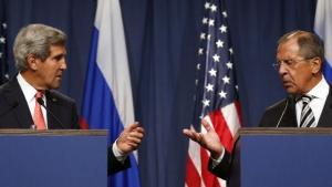 Джон Керри, Сергей Лавров, война в Сирии