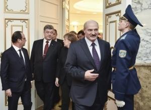 Лукашенко, Минск, нормандская четверка, переговоры, мир в Украине