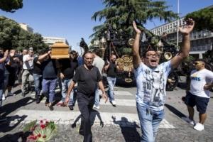 италия, похороны, мафия, наркотики, новости, рим