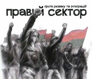 Правый сектор, посольство РФ, националисты, акция протеста, Новости Украины