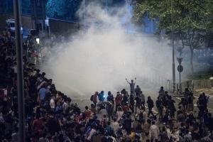 китаяй, гонконг, протесты, беспорядки