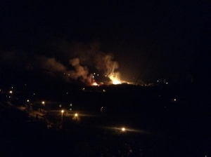 донецк, ато, пожары, киевский район, куйбышевский район, ато