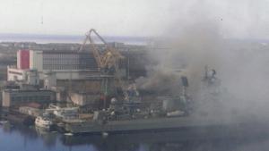 россия, происшествия, атомная подводная лодка орел, северодвинск, пожар