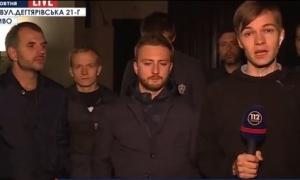 порошенко, журналисты,