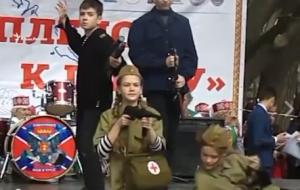 Крым, Севастополь, концерт, танец, скандал, видео, расстрел, бой, оружие, песня, аннексия, годовщина, празднества, Россия, РФ, Украина