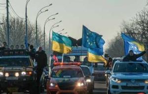 улица Грушевского и Садовой, Киев, активисты, Верховная рада, автомайдан, правый сектор, Украина