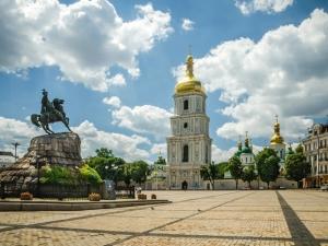 хмельницкий, киев, богдан, гетьман, софиевская, площадь, украина, инсталляция, арт