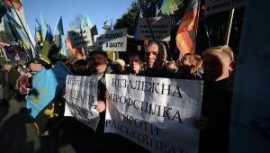 митинг шахтеров, кабмин украины, киев, новости украины, общество