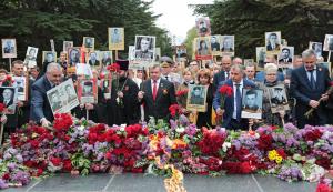 Опанасюк, ANNA MARIA, дуэт, Крым, Симферополь, Россия, парад, 9 мая, день победы