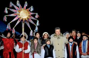 новости Украины, Порошенко, поздравления, Рождество