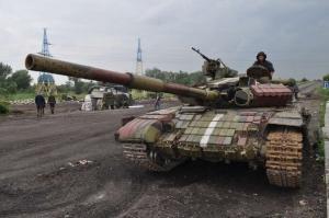 Дебальцево, ДНР, Донбасс, ДонОГА, восток Украины, АТО, ВСУ, конфликт в Украине, техника, танки