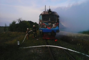 украина, винница, поезд, жд, пожар