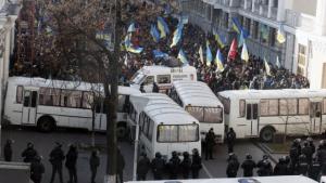 семенченко, комбат, донбасс, забастовка, администрация президента, киев
