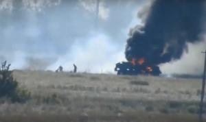 Украина, Отвод войск, Донбасс, ВСУ, ООС, Атака ПТУР подрыв