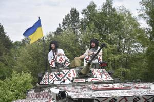 Украина, ВСУ, ООС, армия, кадры, видео, день вышиванки