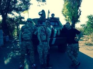 армия украины, батальон шахтерск, ляшко, брдм, вилы