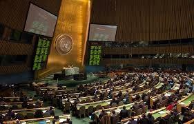 Генассамблея ООН, Путин, Украина, Юрий Сергеев