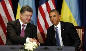обама, путин, порошенко, белый дом, давление, президент России