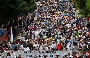 мексика, акапулько, демонстрация