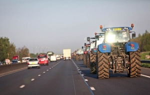 франция, париж, фермеры, протест, митинг