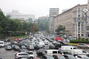 Украина, Киев, Евробляхи, Блокировка, Движение, Авто, Евро Сила, Протест.