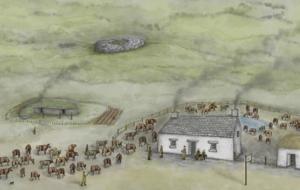 шотландия, история, археологи, артефакты, находки, ведьмы, крест
