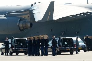 Боинг-777, происшествия, Нидерланды, памятная процессия