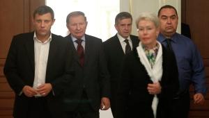 минский меморандум, переговоры в минске 2014, юго-восток украины, донбасс, лнр, днр, политика, кучма, мир в украине