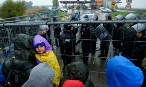 мигранты, беженцы, словения, граница, новости, политика, общество, армия, хорватия