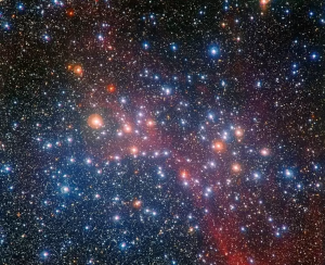 космос, звезды, скопление звезд, открытие
