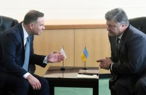 порошенко, дуда, польша, украина, северный поток 2, оон, киев, варшава, политика