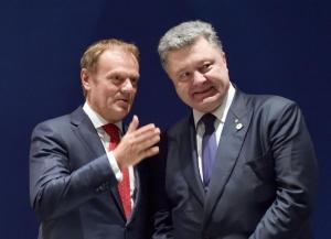 Петр Порошенко, Визит в Брюссель, Санкции против России