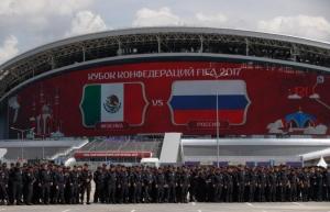 спорт, футбол, россия, кубок конфедераций, казань, новости казани, поражение, мексика