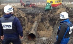 луганская область, луганск, обсе, водопровод, прекращение огня, лнр, сепаратизм, терроризм