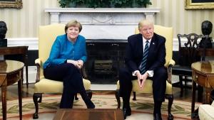 Дональд Трамп, Ангела Меркель, Барак Обама, прослушка, скандал, спецслужбы, США, Америка, пресса, пресс-конференция, Вашингтон