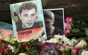 россия, москва, борис немцов, место убийства, драка