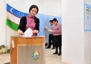 Узбекистан, досрочное голосование, выборы президента