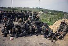 Дебальцево, котел, украинская армия, ДНР, окружение, блокпосты