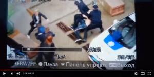 драка, скандал, полицейские, одесса, жилмассив радужный, собака, парковка, видео, чп, криминал, полиция, новости украины