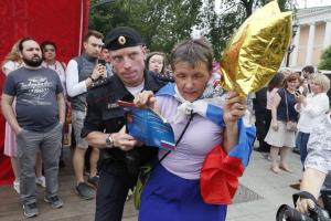 москва, россия, протест, аресты, голунов, соцсети