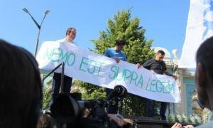 неприкосновенность, Верховная Рада, митинг Семен Семенченко, Егор Соболев