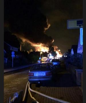 Германия, происшествие, общество, взрыв, химический завод