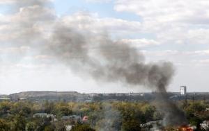 Донецк, горсовет, погибшие, Савинов, обстрел, снаряд, школа
