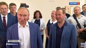 Крым после аннексии, Новости Крыма, Владимир Путин, Дмитрий Медведев