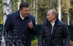 Россия, Политика, Янукович, Песков, Охрана, Путин.