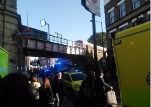 взрыв, метро лондона, пострадавшие, пожар, парсонс грин, чп, происшествия