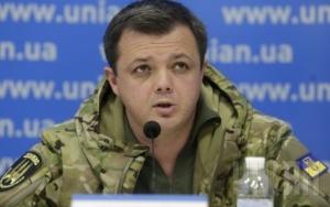 новости украины, семенченко о блокаде, блокада донбасса, война в донбассе