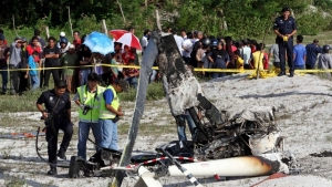 Малайзия, авиакатастрофа, вертолет
