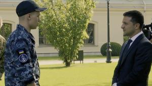 моряки, зеленский, слуга народа, керченский пролив, обмен пленными, Новости Украины, видео встречи