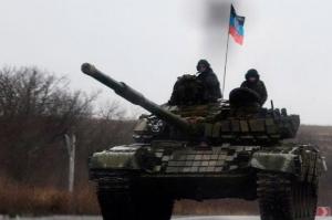 """""""днр"""", танк террористов, авария в """"днр"""", происшествия, харцызск, видео, украина"""
